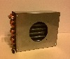 "Air Cooled Condenser 7.875""x9"" 3R8H with fan shroud"
