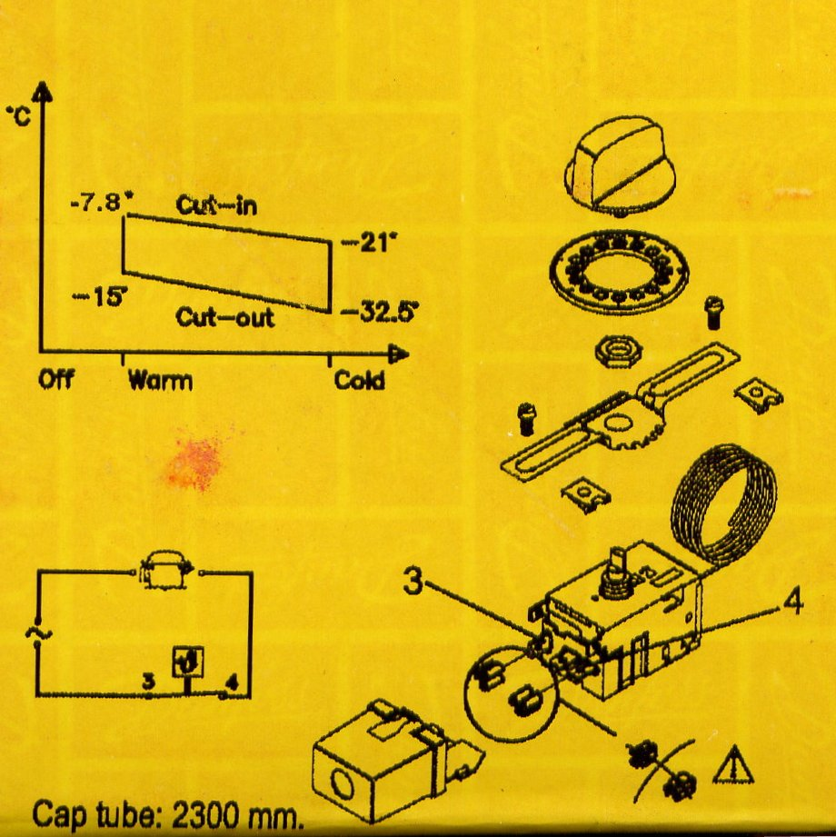 image from the label on the Danfoss package